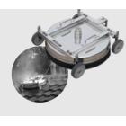 Tagkasserenser i rustfri stål, 52 cm - Reno 10880973
