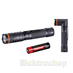 Bato Penlampe LED Twister 300 Lumen m. kraftig magnet - BATO 65004
