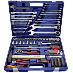 """BATO Værktøjssæt 1/2"""" topnæglesæt. Ringgafelnøgler. Lednøgler. Stiftnøgler, mm. 1183"""