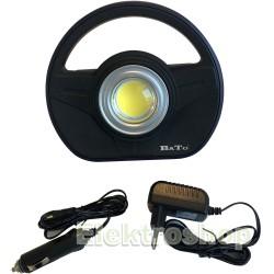 Bato Arbejdslampe 10W LED, 12V/230V - Bato 65110