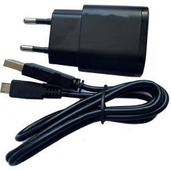 Bato stømstik 220V/2AMP, STIK OG USB KABEL 6549
