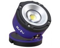 Bato arbejdslampe LED 6W rund 65102