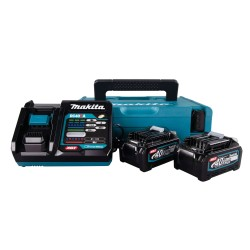 Makita batteripakke 2 stk. BL4040 + lader DC40RA 191J97-1