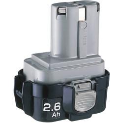 Maktia batteri 9,6V 2,6Ah 9134 ni-mh 193099-3