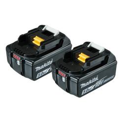 Batteri 18V 5,0Ah LI-ION 2 stk BL1850x2 - Makita 197288-2