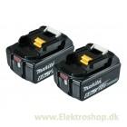 Batteri BL1860B 18V 6,0Ah 2 stk pakke - Makita 197428-2