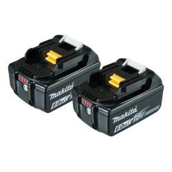 Batteri BL1860B 18V 6,0Ah 2 stk - Makita 197428-2