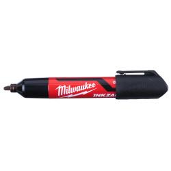 Milwaukee marker sort med mejselspids 3 stk. 4932471554