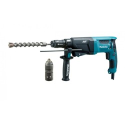 Bore-/mejselhammer SDS-plus 800W - Makita HR2631FTJ