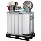Reno højtryksrenser til algebehandling, tagrens, solcelle rens på 800L palletank 200/15 B20017-S3-800