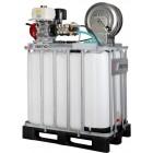 Reno højtryksrenser med lanse til algebehandling, tagrens, solcelle rens på 800L palletank m/ elstart 220-18 B22018-S8-800