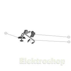 Baron metalskovle sæt m. 4 skovle til tvangsblander F300 / E300 / M300 50444