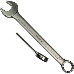 Ringgaffelnøgle 100 mm vinklet - Bato 2500