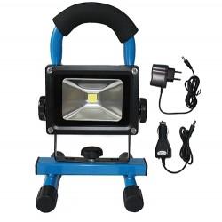 Arbejdslampe 10W LED, 12V/230V - Bato 65110