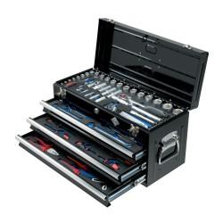 Værktøjssæt i metalkasse - 99 dele - BaTo B-TS1199