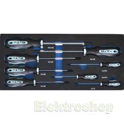 Bato Skruetrækker med kugle. 2,0-10mm - 8961
