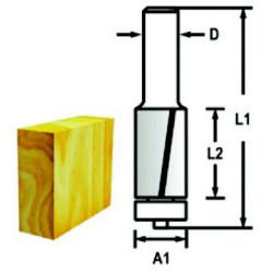 Makita kantfræser 12,7mm 3-skærs D-47765