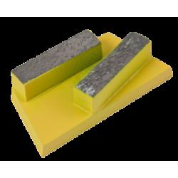 Eibenstock betongulvsliber EBS235 segmentsæt abrasiv til ny beton 160628 / 37123000
