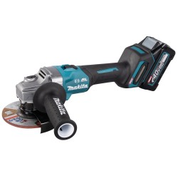 Makita vinkelsliber 125mm 40v m. 2x4,0ah batterier GA005GM201
