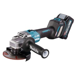 Makita vinkelsliber 125mm 40v m. 2x4,0ah batterier GA023GM201