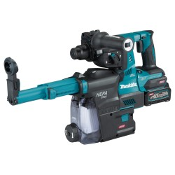 Makita bore-/mejselhammer sds+ 40v m. 2x2,5Ah batterier HR001GD203