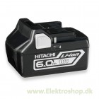 Batteri 18V 6,0Ah - Hitachi BSL1860