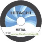 Skæreskive Ø125 mm til stål og hårde metaller 10 stk - Hitachi 79999100