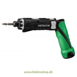 Skruemaskine 3,6V m. 2 stk 1,5Ah batterier - Hitachi DB3DL2