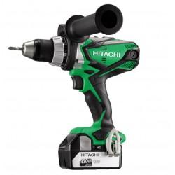 Hitachi slagboremaskine m. 2x18V 5,0Ah batterier DV18DSDL