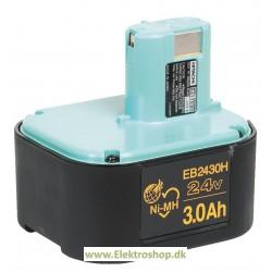 Batteri 24V 3,0Ah - HITACHI EB2430H
