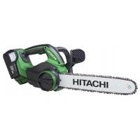 """Kædesav 12"""" batteridrevet m. 1 stk 36V 2,0Ah batteri - Hitachi CS36DL"""