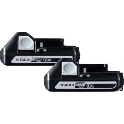 Batteripakke 18V m. 2 stk 2,5Ah batterier - Hitachi 60020006