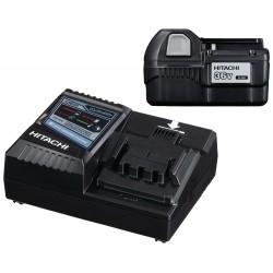 Batteri + lader,  1 x 36V 2,0Ah batteri og 1 x lader - Hitachi 60020002