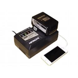Powerpack sæt med lynlader og batteri 18V 5,0Ah - Hitachi  60020008