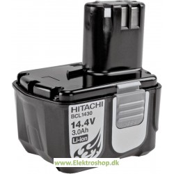 Batteri 14,4V 4,0Ah - Hitachi BCL1440