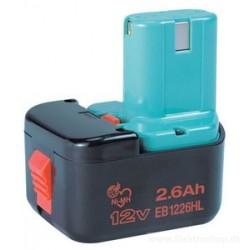 Batteri 12V 2,6Ah - Hitachi EB1226HL