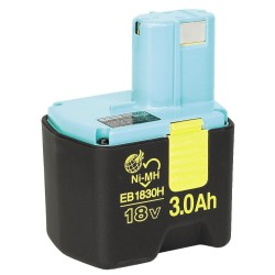 Batteri 18V 3,0Ah - Hitachi EB1830H