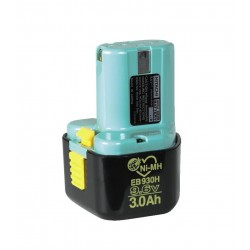 Batteri 9,6V/3,0AH - Hitachi EB930H