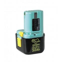 Batteri 9,6V/3,0AH - Hitachi EB930H