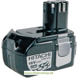 Batteri 18V 3,0Ah - Hitachi EBM1830