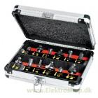 Fræsejernssæt m. 12 dele - Hitachi 60340035