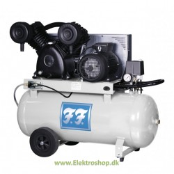 Industrikompressor Euros mobil 4 hk 480/90 til foderanlæg - Reno IN48090-M4A