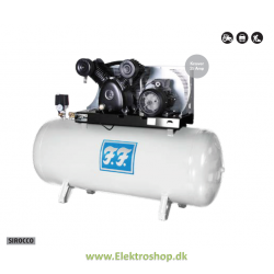 Industrikompressor stationær Sirocco 7,5 hk 970/500 - Reno IN970500-S4A