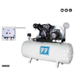 Kompressor stationær Sirocco m/stjernetrekant-start  7,5 hk 970/500-S6A - Reno IN970500-S6A