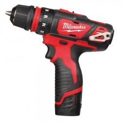 Milwaukee bore-/skruemaskine M12 BDDXKIT-202C 4933447836