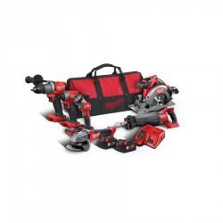 Milwaukee M18FPP6C2-502B kombi/powerpack 18V i taske 4933464592