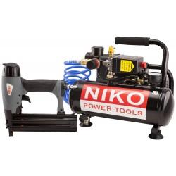 Kompressor m/ dykkerpistol - Niko K1/4-F50D