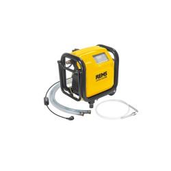 Elektronisk skylle- og trykprøveenhed med kompressor - REMS Multi-Push 115610