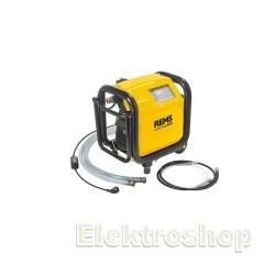 Elektronisk skylle- og trykprøveenhed med oliefri kompressor  - REMS 115611