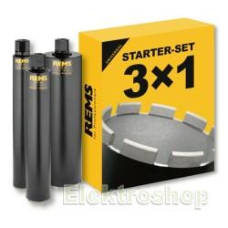 Diamantbor Starter-Sæt 62-82-132 - REMS 181101